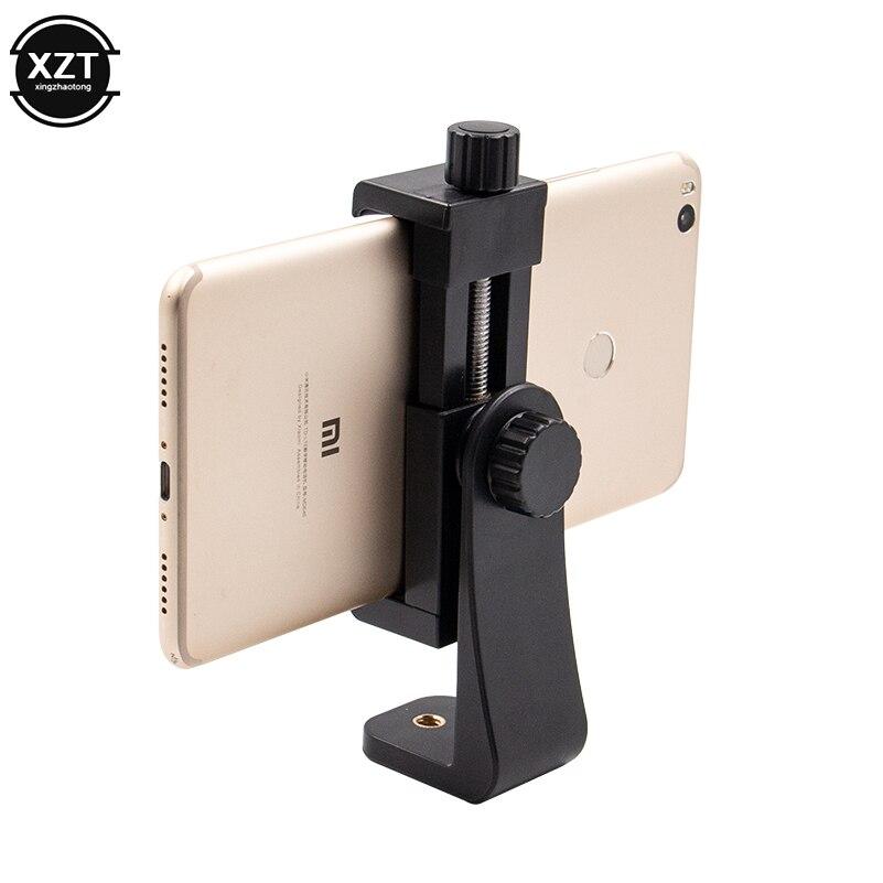 1 Pcs Universal Telefon Stativ Mount Adapter Handy Clipper Halter Vertikale 360 Stativ Für Iphone X 7 8 Plus Samsung S8s7
