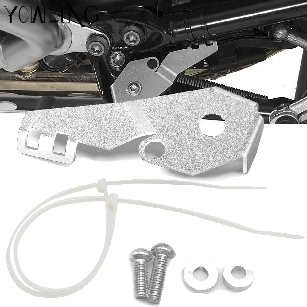 CNC Side Stand Switch Protector Guard For BMW R 1200 GS 1200GS R1200GS LC Adventure ADV 2013-2018 13 14 15 16 17 18 Cover Cap