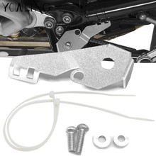 Motorcycle Stainless Steel Side Stand Switch Guard Cover Protector for BMW R 1200GS R1200 GS R1200GS ADV Adventure 2014-2017 mklightech for bmw r1200gs r1200 gs r 1200gs 2014 2018 motorcycle modification headlight grille guard cover protector