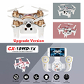 WiFi FPV RC Quadcopters Drone With HD Camera Phone Remote Control Flying Camera Helicopter Original Cheerson CX-10W CX-10WD