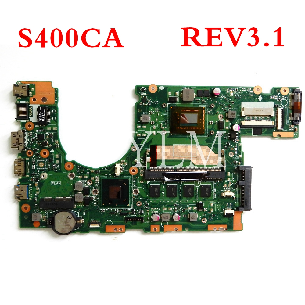 Shop For Cheap S400ca 2117/i3/i5/i7 Cpu With 4gb Mainboard Rev3.1 For Asus S400 S400c S400ca S500ca S500c Laptop Motherboard Free Shipping Computer Cables & Connectors