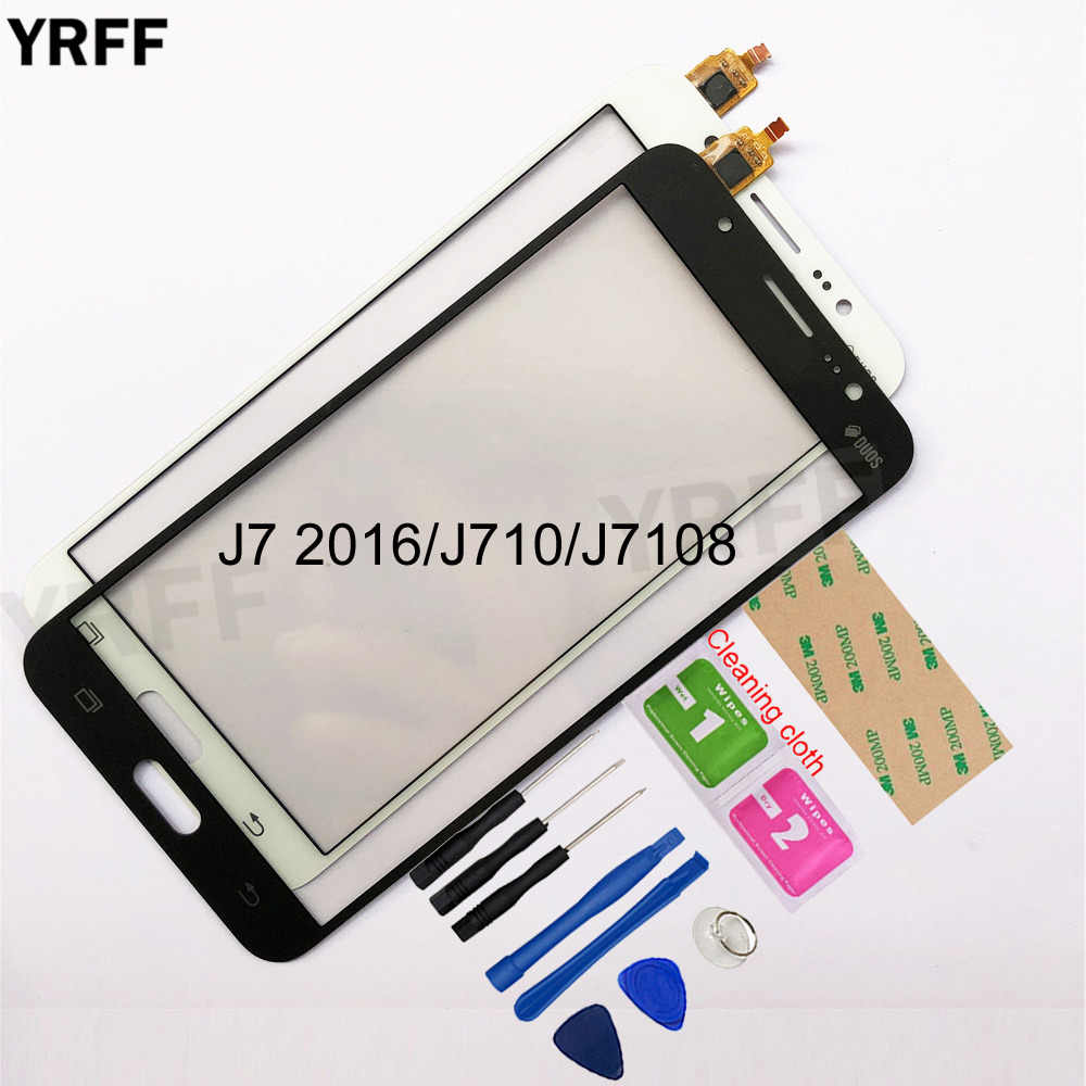 5,5 ''Für Samsung Galaxy J7 2016 J710 J7108 Touchscreen Digitizer Sensor Touch Glas Objektiv Panel