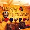 Cute Gold Alphabet Letters Balloons Happy Birthday Party Decoration Aluminum Foil Membrane Ballon Wholesales VBK30 P5