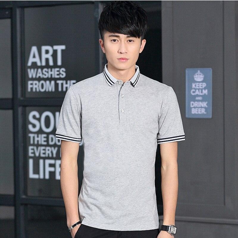 Fit Garçon Manches Mode blanc Slim 3xl M De Pcs Style Casual Taille Noir gris Chemise bleu lot Polo 10 Courte Nouveau Hommes Courtes À 4SAwzq