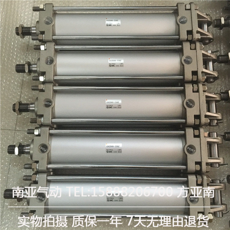 CA2D63-250  SMC Standard cylinder air cylinder pneumatic component air tools mgpm63 200 smc thin three axis cylinder with rod air cylinder pneumatic air tools mgpm series mgpm 63 200 63 200 63x200 model