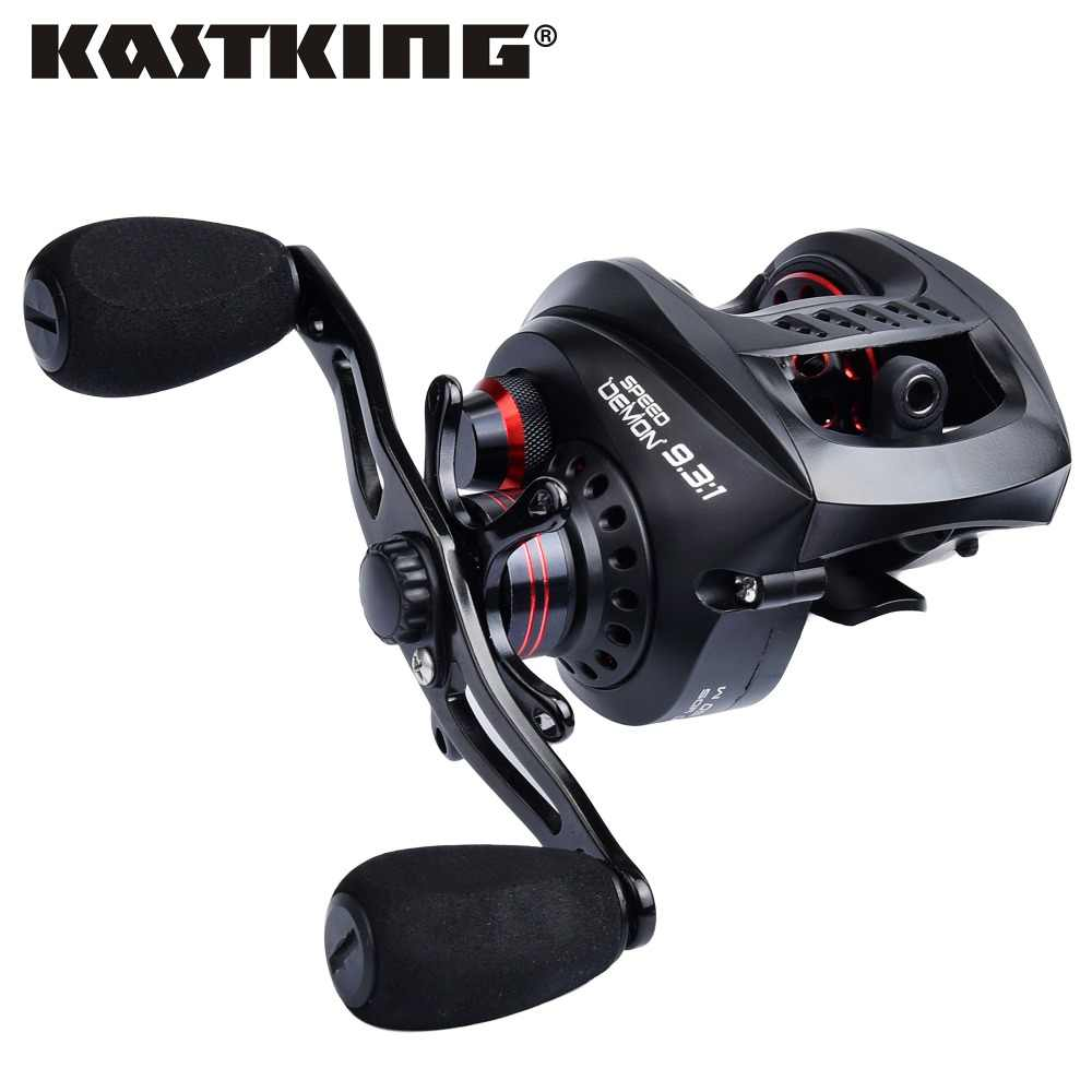 KastKing Speed Demon 9.3:1 Super High Speed Gear Ratio Baitcasting Reel 6KG/13.2LB 13BBs Magnetic Brake System Fishing Reel