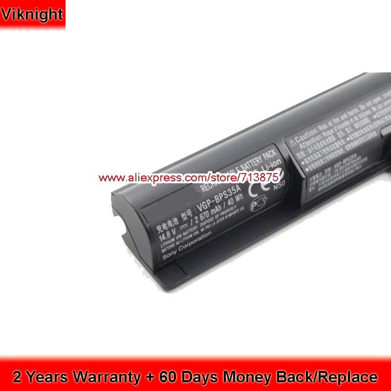 цена на Original VGP-BPS35A Battery For Sony Vaio SVF152C29M 14E 15E SVF1421X2EB SVF15217SC SVF152A29M Laptop Battery 14.8V 2670mAh 40Wh