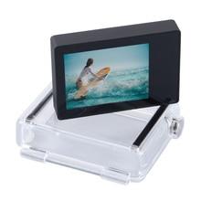 Phụ Kiện Gopro LCD Màn Hình Không Touch Bacpac Màn Hình Hiển Thị LCD + Tặng Mở Rộng Backdoor Cove Cho Gopro Hero 4 3 + 3 Đen Camera