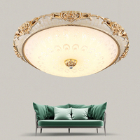 LED Modern Acryl Round glass lampshade Ceiling Lights Lighting Fixture Modern Lamp Living Room Bedroom Kitchen Surface Mount