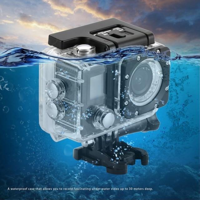 """H9/H9R Máy Ảnh Kỹ Thuật Số 4 K Ultra HD 1080 p/30fps Mini Mũ Bảo Hiểm Kamera WiFi 2.0 """"170D không thấm nước Video Máy Ảnh Fotografica Máy Quay Phim"""