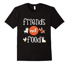 """""""Friends Not Food"""" Vegan T-Shirt"""