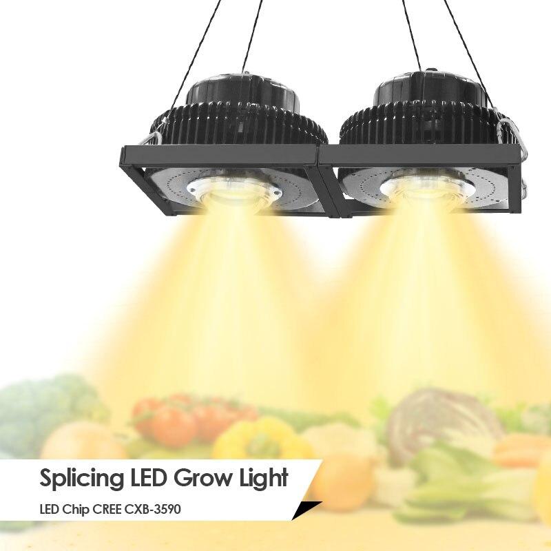 CREE CXB3590 100 W 200 W 300 W 600 W 900 W W COB LED croissance lumière LED à spectre complet lampe de croissance Meanwell pilote pour la lumière de croissance des plantes