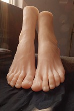 43 size Real skin sex dolls japanese masturbation full silicone life size fake feet foot fetish toy sexy toys foot model