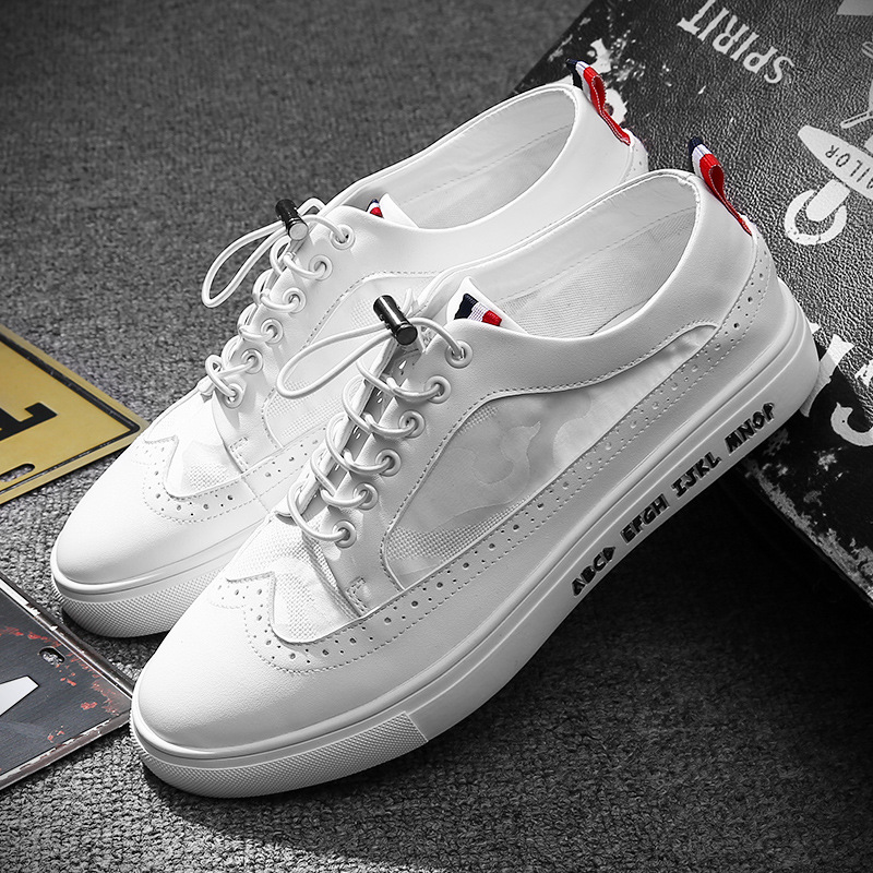 Spring/Autumn Lace up breathable solid men's shoes hot sales comfortable high quality men sneakers Leisure cool adults shoes 2018 european cool men shoes breathable light casual adults casual shoes spring autumn solid high quality sneakers man