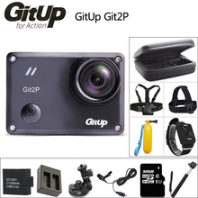 GitUP Git2P Action Camera 2K Wifi Full HD 1080P 30m Waterproof 170 degree Lens mini Camcorder Novatek 96660 Git2 P Sports DV Cam