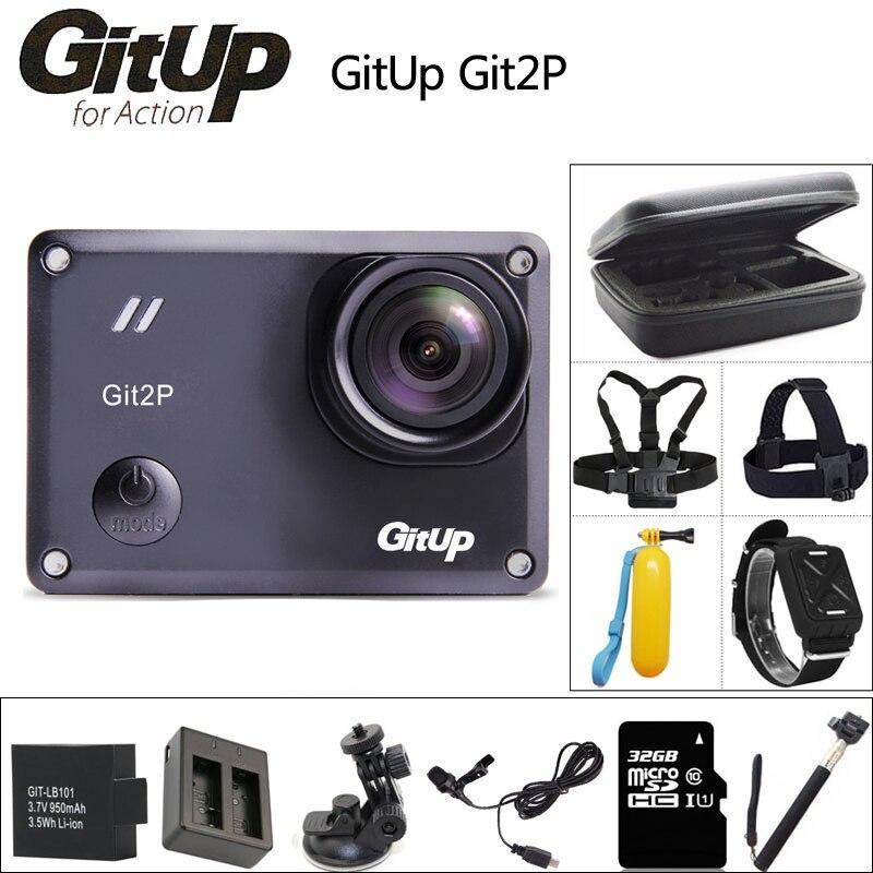 GitUP Git2P D'action Caméra 2 K Wifi Full HD 1080 P 30 m Étanche mini Caméscope Novatek 96660 Git2 P sport DV Cam