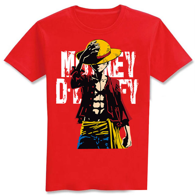 One Piece Luffy T-Shirt (9 Colors)
