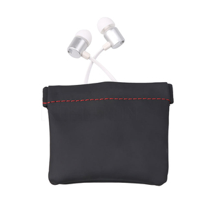 Image 5 - kebidumei Earphone Bag Senfer PU Leather Earphone Case Headset Carrying Pouch Store Headphone Package Headset Accessorie