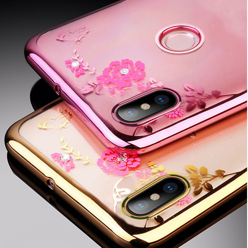 Vivo Y95 Y91 Case On For Vivo Y95 Y91 Crystal Diamonds Soft TPU Phone Case For Vivo Y95 Y91 Y91i V1807 Y 95 91 i VivoY91 VivoY95