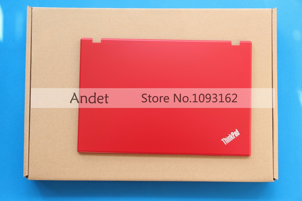 New Original for Lenovo ThinkPad X100E X120E LCD Rear Back Cover Top Lid Shell 60Y5266 Red 60Y5265 White