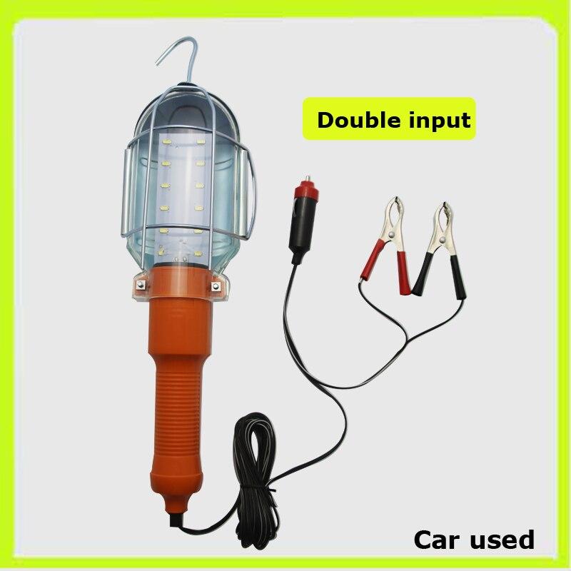 12 V 12 * 5730SMD portable projecteurs LED main lampes led travail lampe Luz trabajo A MENÉ la lumière d'urgence led d'inspection pour la réparation automobile