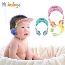 Bebé ducha Cap champú lavado de bebé pelo protector ducha ajustable  sombrero infantil chico oído ojos a72790c0b64