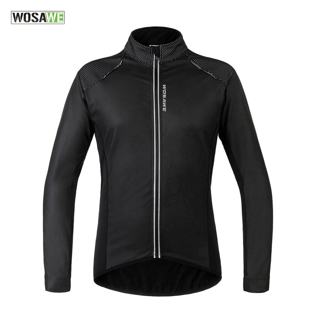 WOSAWE cyclisme Jersey 2017 nouveau Design route cyclisme vestes vélo vélo maillots polaire coupe-vent manteau Ciclismo cyclisme vêtements