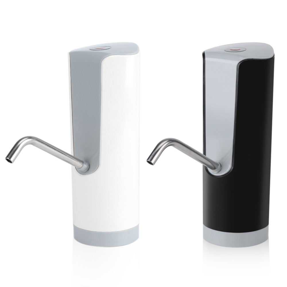 1Pc Convenient Electric Water Bottle Pump Dispenser Automatic Bottle Drinking Water Bottles Top Switch Button Бутылка