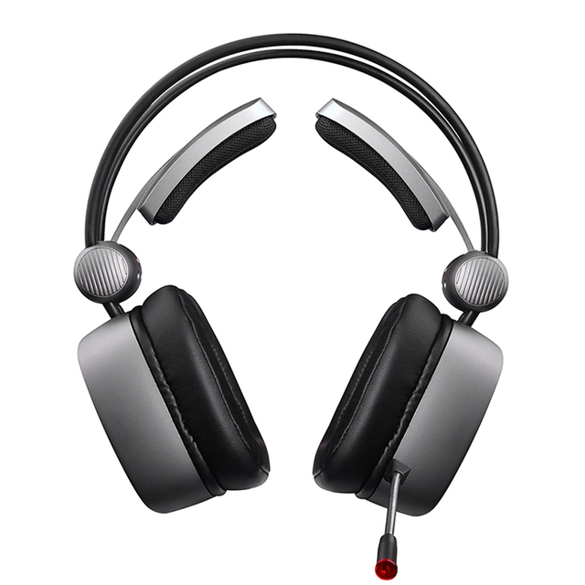 XIBERIA S21 Gaming Headset 7.1 Surround Sound Stereo Headphones with Microphone LED Light for Computer Gamer USB Game Headset 2
