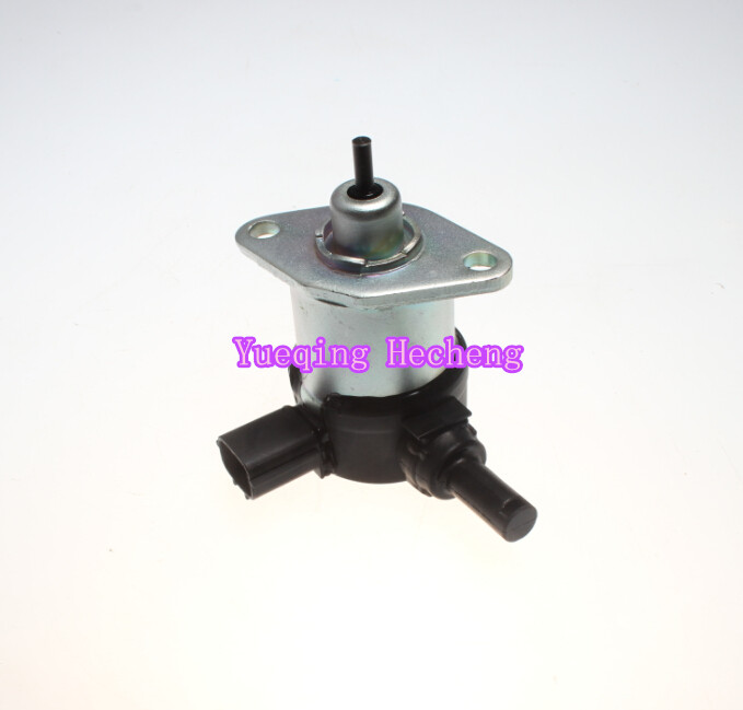 Free shipping 17208-60016 Fuel Shut Off Stop Solenoid Fits V1505 V1305 D1105 D1005 D905 engine spare parts flame out solenoid 17208 60016fuel shut off stop solenoid fits v1505 v1305