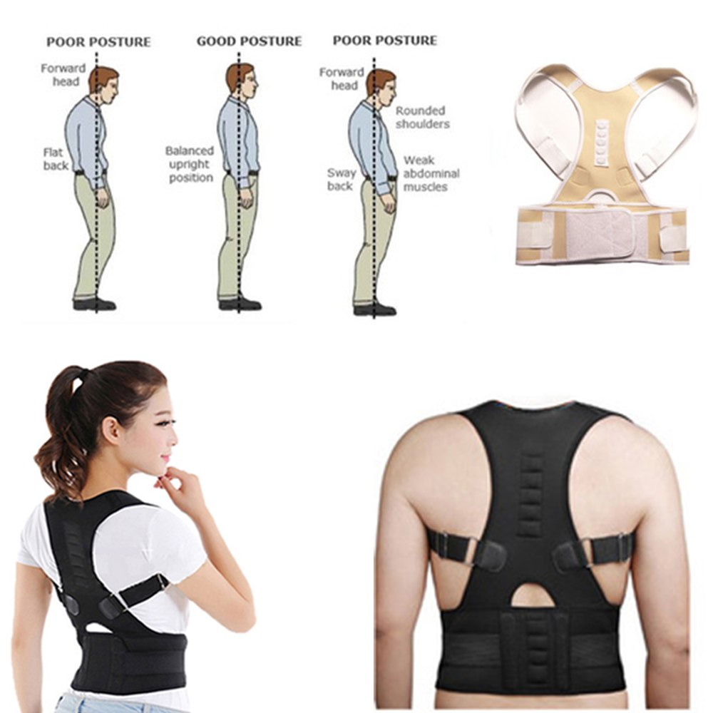 High Quality Posture Corrector Spine for Unisex Adult Adjustable Men Women Back Shoulder Supporting For Brace Posture New