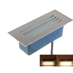 Outdoor/Indoor wodoodporna 2W 3W 5W LED światło podziemne lampa schodowa ziemia ścieżka ogrodowa lampa podłogowa pochowany Yard światło krajobrazu