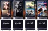 Customized software for payment Kiosk terminal LCD Advertising Display With Instant Photo Thermal Printer