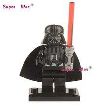 20 pcs blocos de construção de star wars Sabre De Luz de Darth Vader de super-heróis da marvel action figure modelo tijolos educacional diy brinquedos do bebê