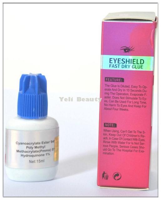 Black Permanent Eyelash Extension Glue Waterproof False Eyelashes Glue For Professional Cilios Posticos Natural Eye Lashes Glues