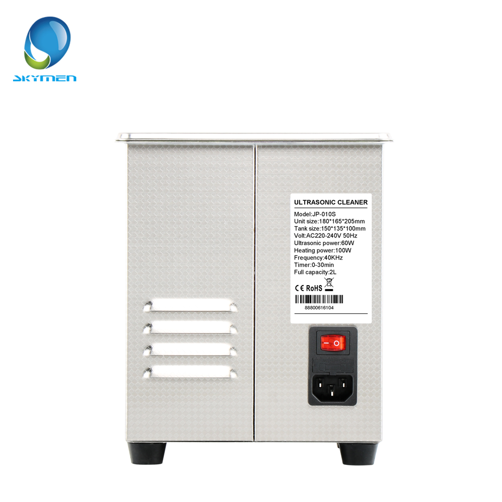 Image 4 - SKYMEN Digital Ultrasonic Cleaner Bath 2l ultrasonic cleaner 60W 110/220V pcb cleaner golf ball washer-in Ultrasonic Cleaners from Home Appliances