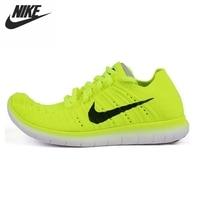 Original NIKE FREE RN FLYKNIT R Women's Running Shoes Sneakers
