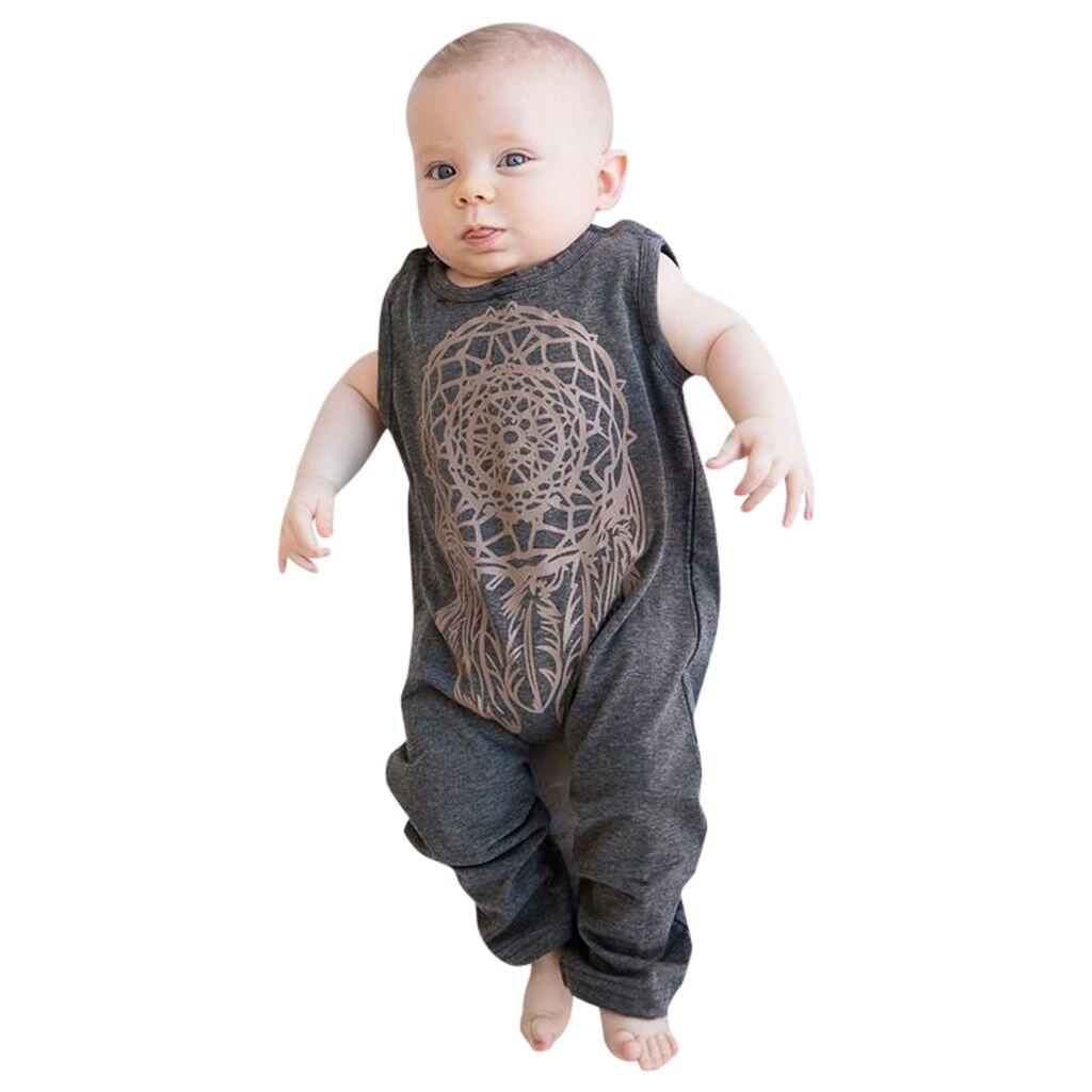 New Baby Clothes Newborn Girl Boy Bodysuit Infant Toddler Sleeveless Bodysuit Jumpsuit Suit Outfits Wholesale одежда для пупсов