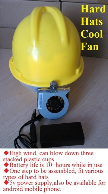 Hard Hats With Cooling Fans | Sante Blog