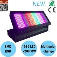 Guangzhou Strobe Flash Light 1080x200mw LED Strobe DMX RGB Disco Lamps Lumiere Sound DJ Equipment Stage Lighting
