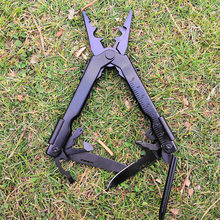 Daicamping black long nose folding multi functional plier portable mini tools pliers combination