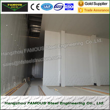 China manufacture industrial blast freezers refrigeration freezing cold room for vegetables cold room panel price and