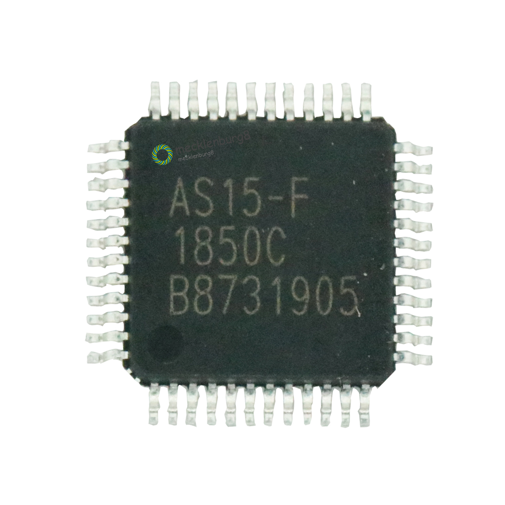 5 pieces. AS15-F <font><b>AS15F</b></font> <font><b>QFP48</b></font> AS15 Original LCD Chip image