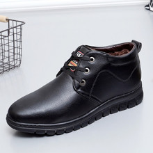Handmade Shoes Men Full Grain Leather Men Boots, Super Cool Ankle Boots ,High Quality winter Men Working Shoes