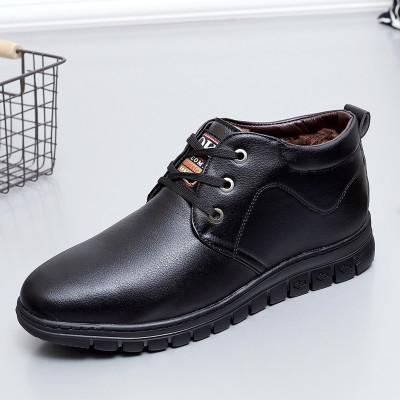 Sapatos feitos à mão Dos Homens de Couro Cheia de Grãos Botas de Homens, Super Cool Botas de Tornozelo, de inverno de alta Qualidade Homens Sapatos De Trabalho