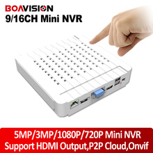 H.264 9CH NVR 16CH 5MP 3MP 720P Mini NVR 1080P HDMI Network Video Recorder For IP Camera Onvif Goolink P2P Cloud iPhone View