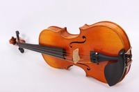 3/4 Violin Flame maple Spruce Ebony Fittings Hand Made Violin Case Bow For Child #YZ02