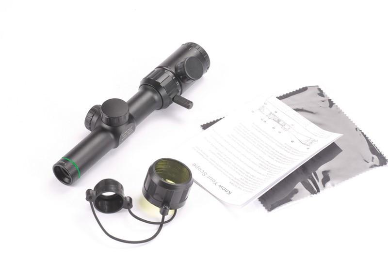 1 4x20 air gun zielfernrohr jagd bereich grün rot beleuchtet mit