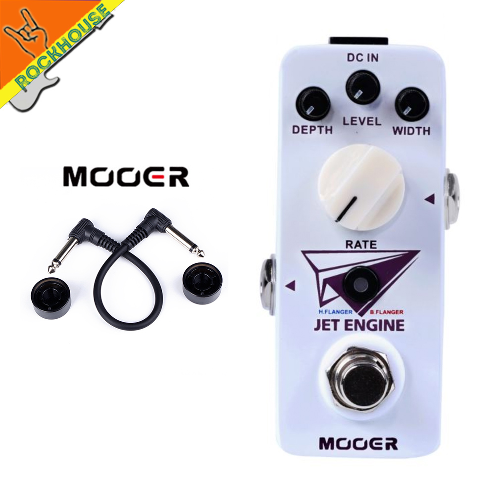 Mooer Jet Engine Dual Flanger Guitar Pedal Micro Sized