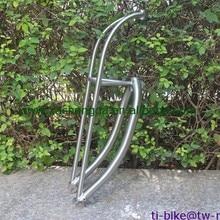 Изготовленная на заказ титановая ферменная вилка, дешевый титановый велосипедный ферменная передняя вилка, Лидер продаж титановый прочный ферменный вилка